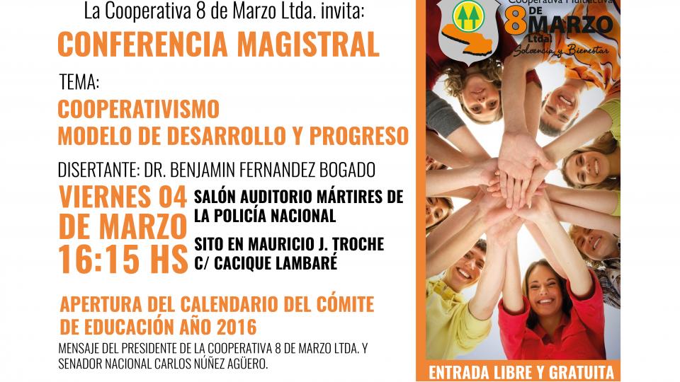 Invitación a Conferencia Magistral