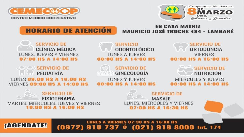 Centro Médico Cooperativo - CEMECOOP