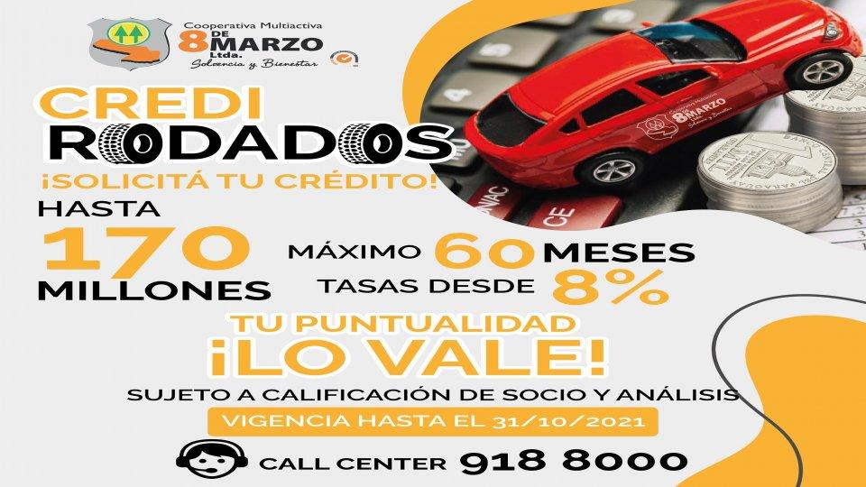 ¡Crédito Promocional Rodados!