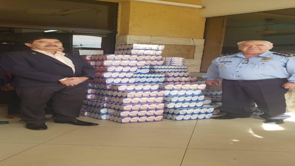 Donación de medicamentos al Hospital Rigoberto Caballero