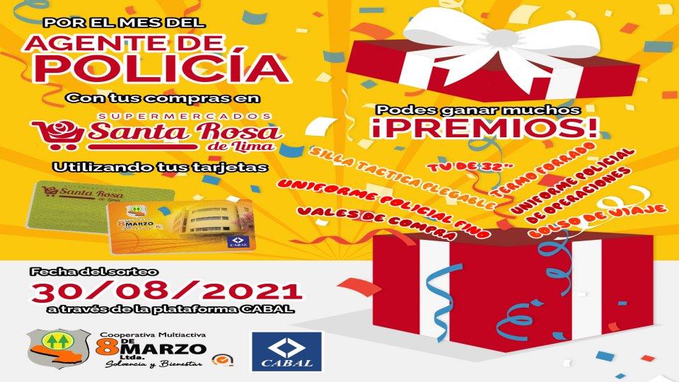 Realizá tus compras en el Supermercado Santa Rosa de Lima