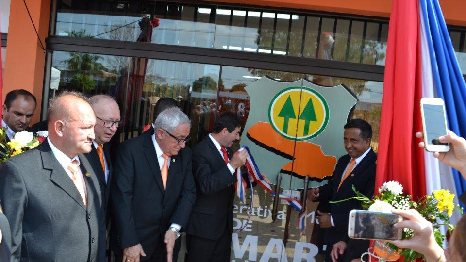Inauguración de nueva Sucursal en Capiibary