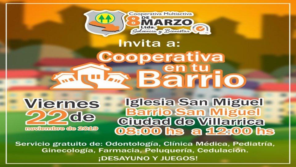 Cooperativa en tu Barrio - Ciudad de Villarrica