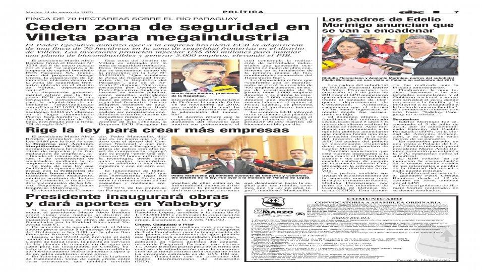 AVISO DE CONVOCATORIA A ASAMBLEA ORDINARIA