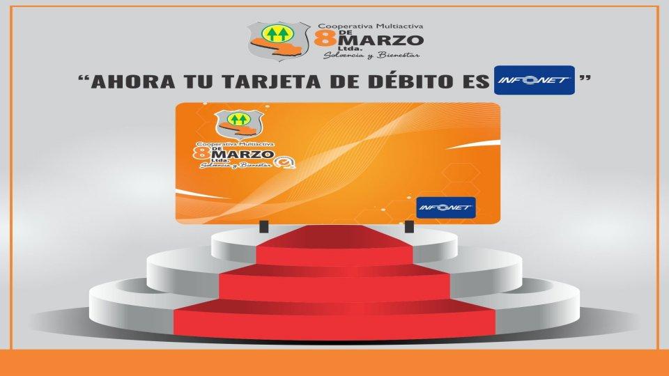 Actualiza tu tarjeta de débito